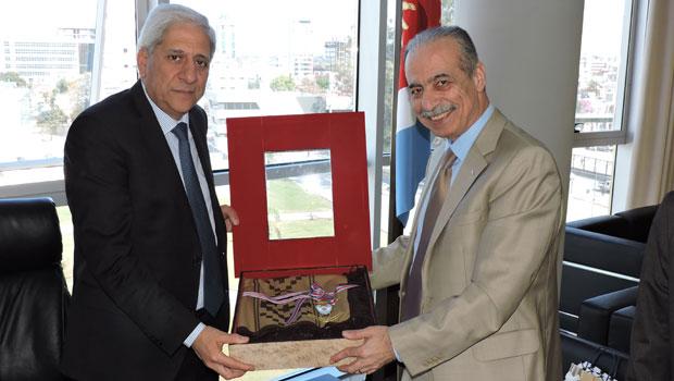 Visita de nuestro Embajador a la Legislatura y Ministerio de Justicia de Santiago del Estero