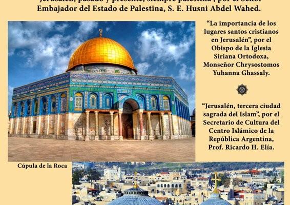 Conferencia sobre Jerusalén en el Centro Islámico