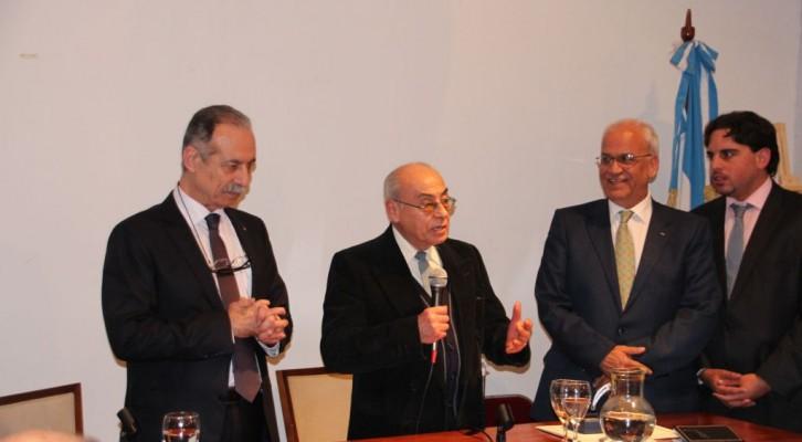 Encuentro del Dr. Erekat con la comunidad palestina y el Comité Argentino de Solidaridad con el Pueblo Palestino
