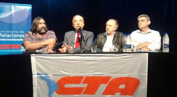 Acto Internacional de Solidaridad con Palestina organizado por la CTA