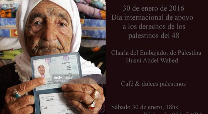 Día Internacional de Apoyo a los Derechos de los Palestinos del 48