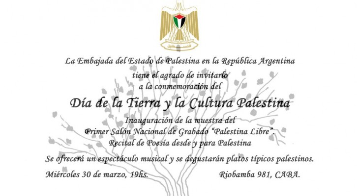 Día de la Tierra y la Cultura Palestina