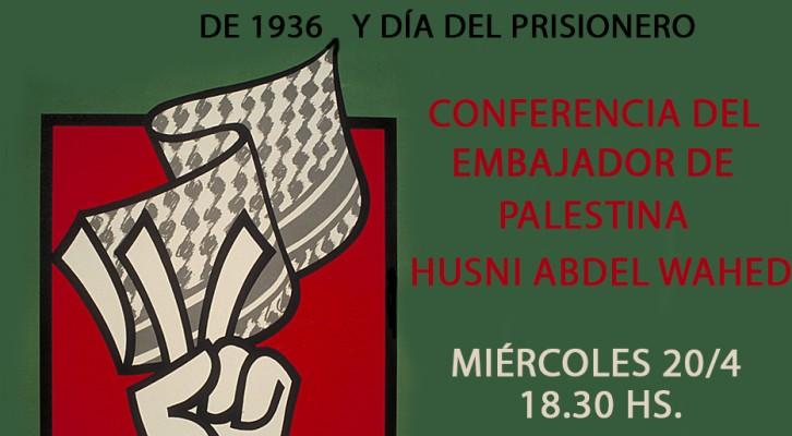 Conferencia en ocasión del 80° aniversario de la revolución de 1936 y Día del Prisionero