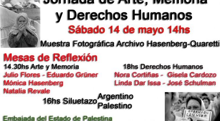 Jornada de Arte, Memoria y Derechos Humanos. Conmemoración de la Nakbah