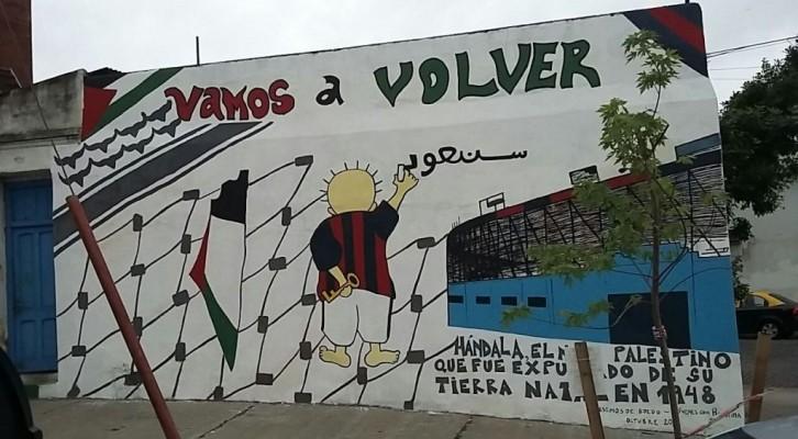 ¡VAMOS A VOLVER! Gritan las paredes de Boedo
